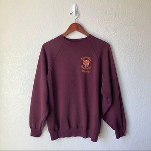 Vintage Crew Neck Cambridge University Sweatshirt